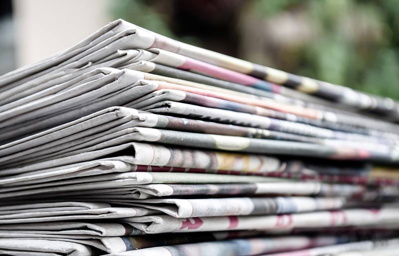 Trinidad and Tobago Chapter: News, stack of newspaper